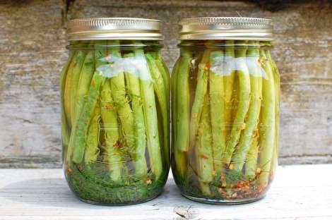 طرز تهیه ترشی لوبیا سبز فوری و خوشمزه