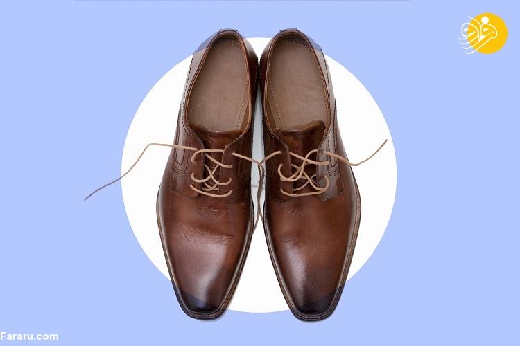 ۵ نکته در مورد نحوه تمیز کردن کفشهای چرمی