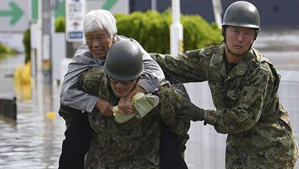 (تصاویر) طوفان هاگیبیس در ژاپن