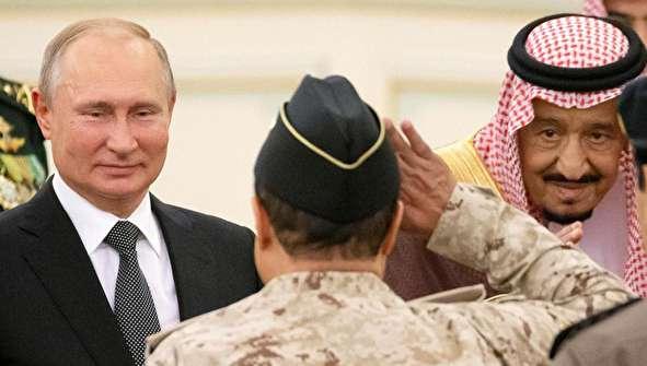 (تصاویر) حاشیههایی از سفر پوتین به عربستان