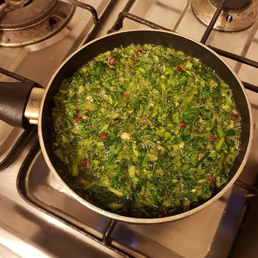 طرز تهیه کوکوی سبزی
