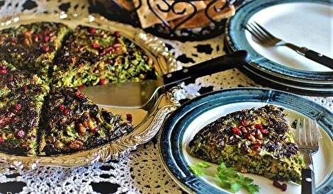 طرز تهیه کوکو سبزی ساده و خوشمزه