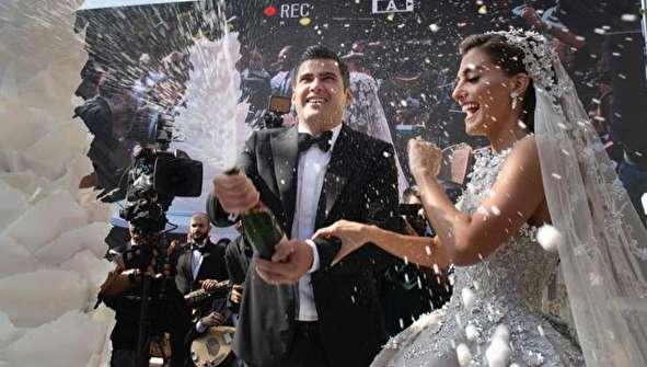 (تصاویر) جشن عروسی پسر سیاستمدار معروف لبنان