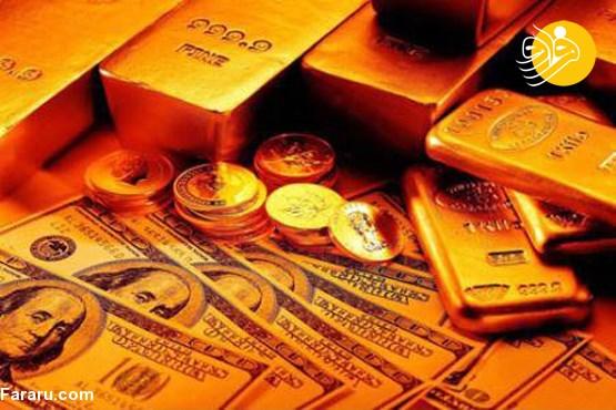 نرخ انواع ارز، سکه، طلا و نرخ دلار در بازار امروز ۲۷ مهر ۹۸