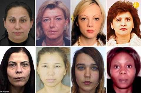 (تصاویر) جنایتکارترین زنان اروپا