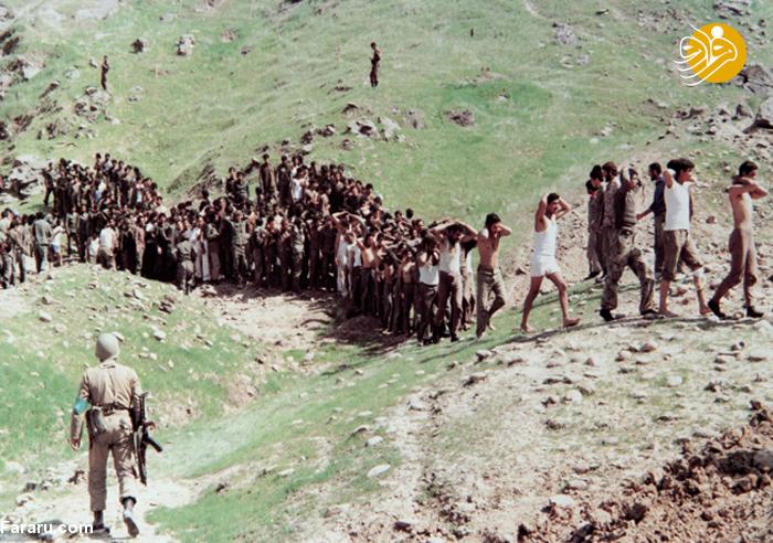 تصاویری دیده نشده از اسارت سربازان عراقی در ایران