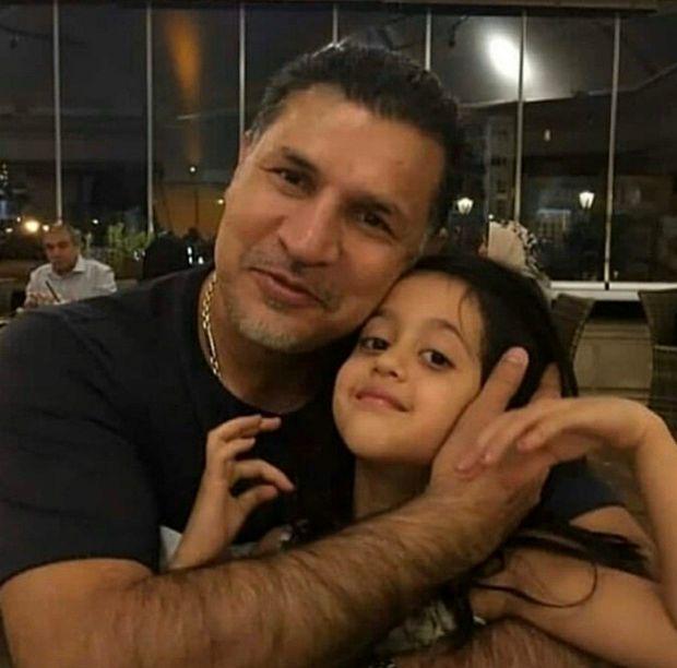 (عکس) تصویری از علی دایی در کنار دخترش