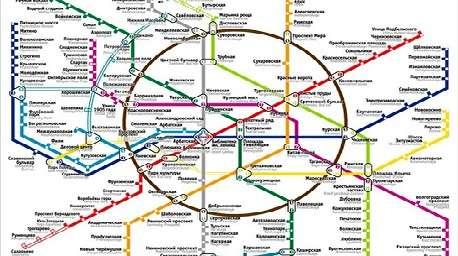 توسعه ۱۷ خط متروی مسکو طی ۸۵ سال