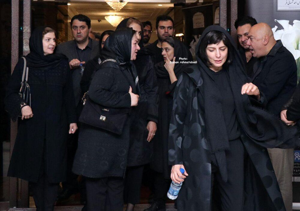 (عکس) لیلا حاتمی در مراسم یادبود مظاهر مصفا