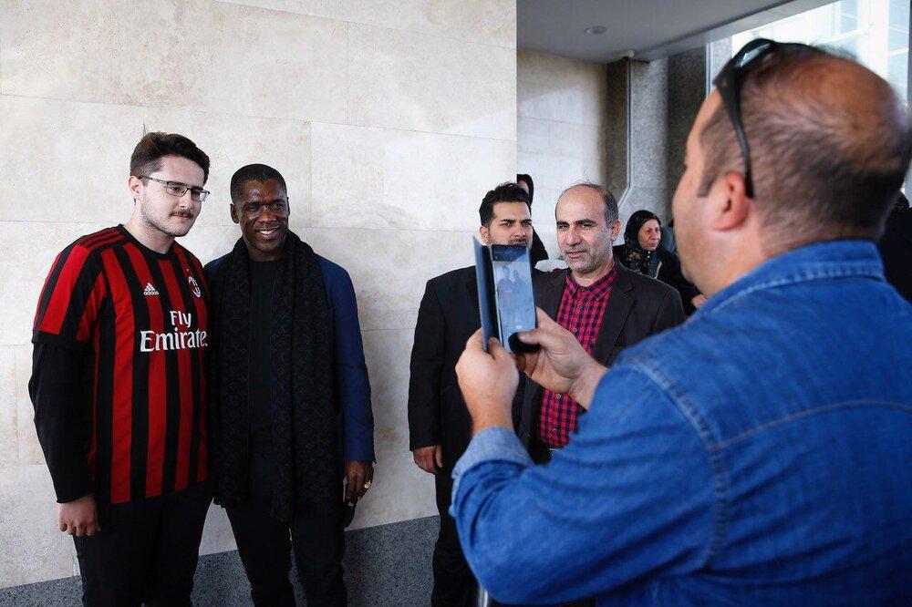 نخستین تصاویر از ورود ستاره هلندی به تهران
