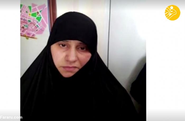 زن ابوبکر بغدادی دستگیر شد/عکس