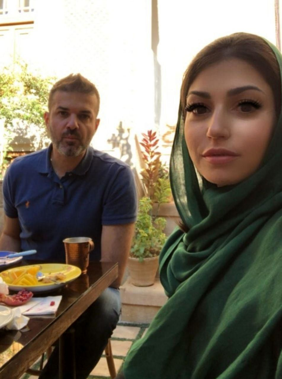(عکس) استراماچونی و همسرش در شیراز