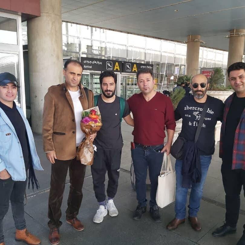 (تصویر) نوید محمدزاده و محسن تنابنده پس از بازگشت از توکیو