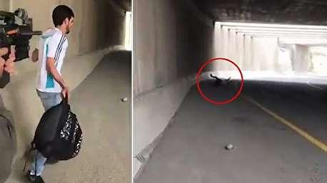 شلیک سرباز اسراییلی به جوان فلسطینی