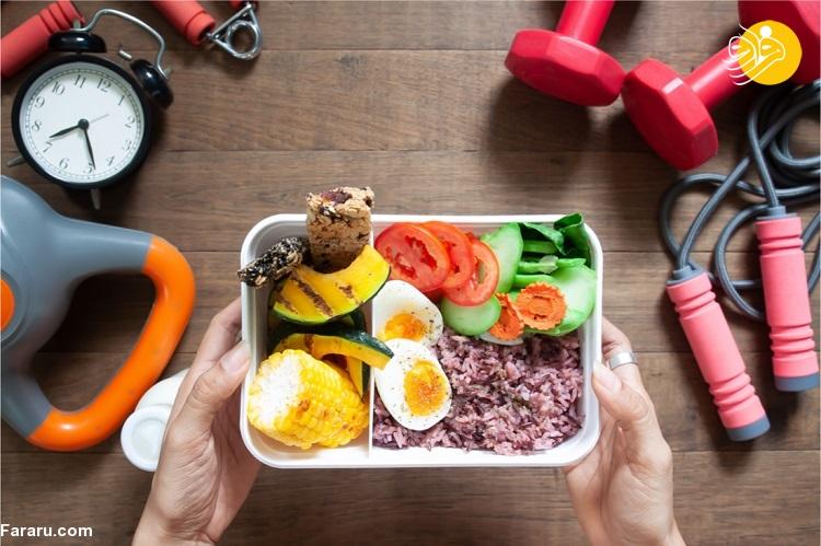خوراکیهایی که باید قبل از ورزش بخورید
