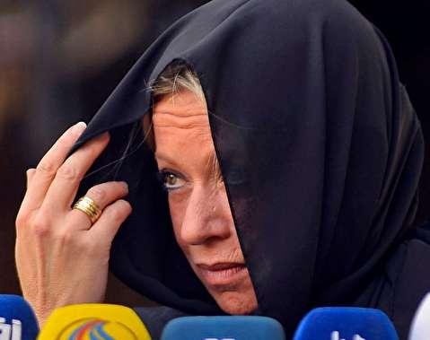 (تصاویر) حجاب نماینده سازمان ملل در دیدار با آیت الله سیستانی