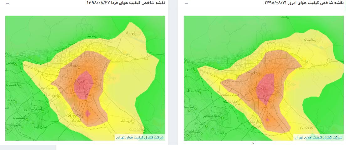 آخرین وضعیت آلودگی هوا؛ مدارس تهران تعطیل میشوند؟