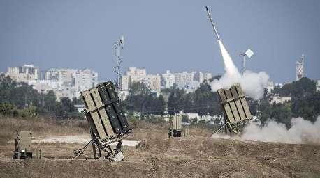 پرتاب راکت از غزه به یک بزرگراه در سرزمینهای اشغالی