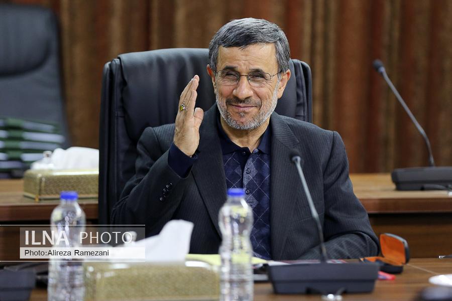 تصویری از ناطقنوری و احمدینژاد در جلسه امروز مجمع