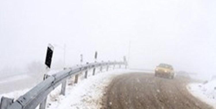 بارش شدید برف در دماوند