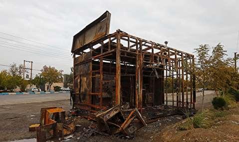 (تصاویر) تخریب گسترده در اسلامشهر و شهر قدس