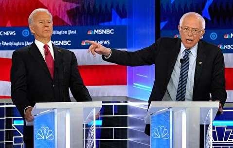 (تصاویر) مناظره انتخاباتی ۱۰ نامزد حزب دموکرات آمریکا