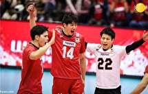 شکست والیبال ایران برابر ژاپن؛ باز هم یک ست گرفتیم!