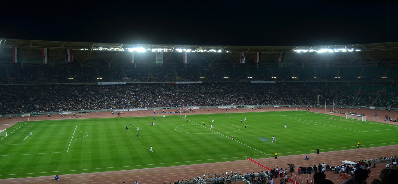 (تصویر) این استادیوم میزبان ایران در بصره است