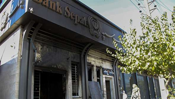 (تصاویر) تخریب گسترده اموال عمومی در کرج