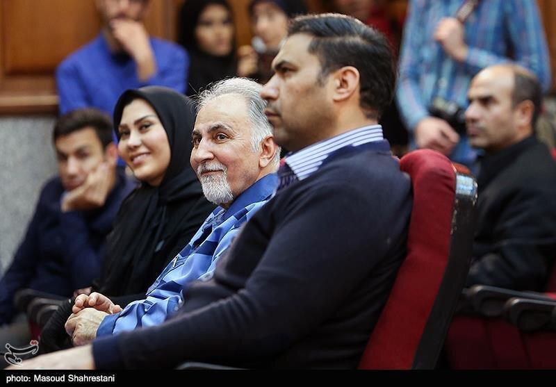 (عکس) این زن وکیل محمد علی نجفی است