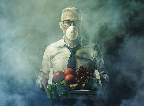 خوراکی های مفید برای مقابله با آلودگی هوا!