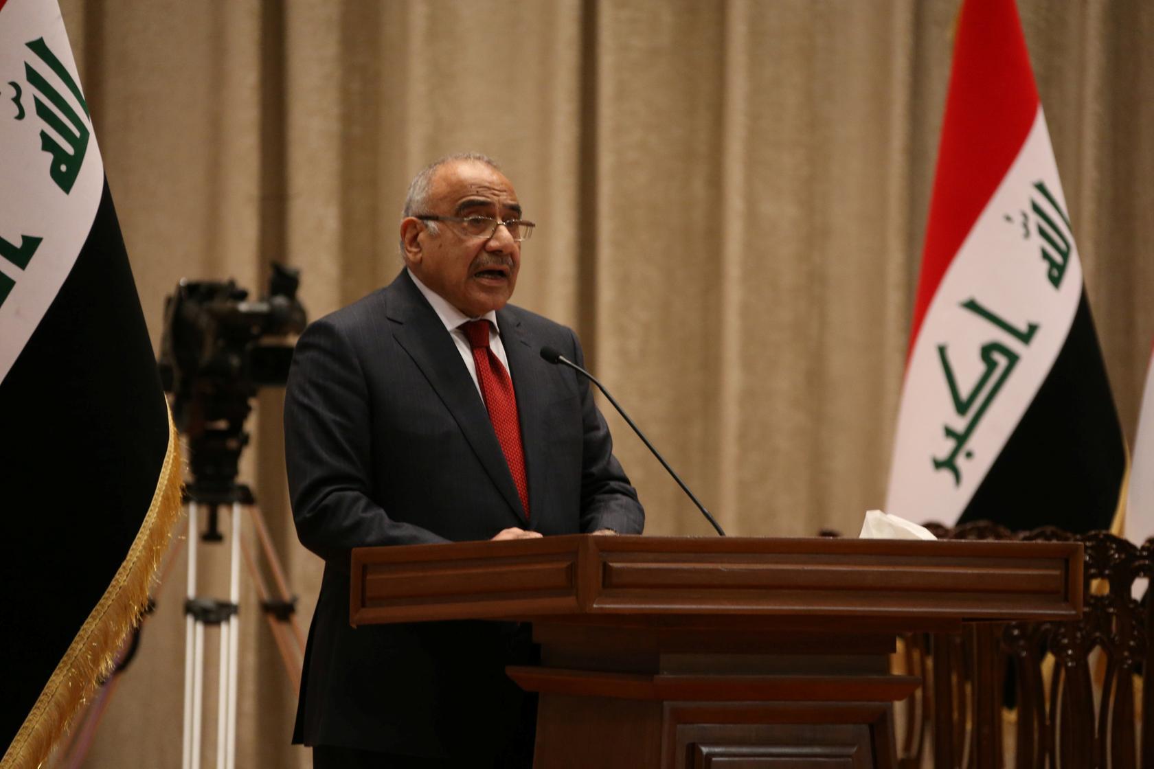 چشم انداز سیاسی عراق بعد از استعفای نخست وزیر