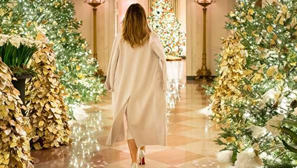 (تصاویر) کاخ سفید آماده برگزاری جشن کریسمس