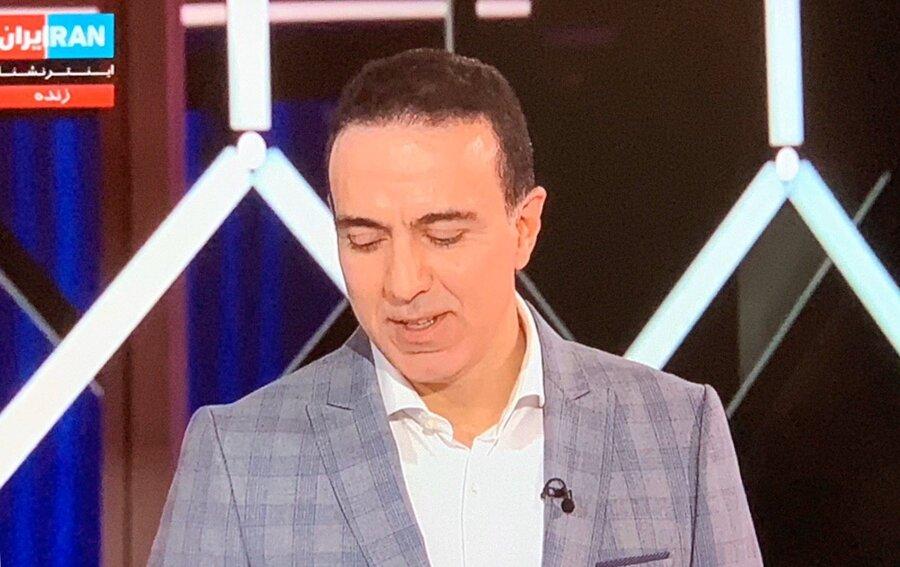(ویدیو) اولین حضور مزدک در شبکه ایران اینترنشنال و واکنش درباره ۹۰