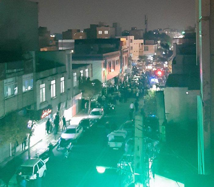 تیراندازی در افسریه تهران با یک کشته و دو زخمی