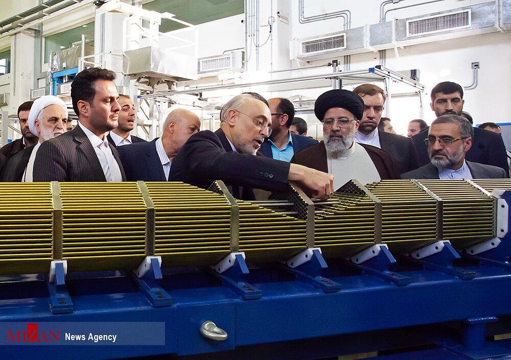 (تصاویر) ابراهیم رئیسی در سایت هستهای UCF