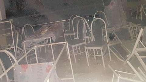 تصاویر حادثه دلخراش تالار عروسی سقز/ مردمی که از وحشت انفجار جان باختند نه از زبانه آتش!