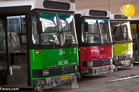 جنجال اتوبوسهای DRT در تهران؛ واکنش تند شهرداری به شایعات