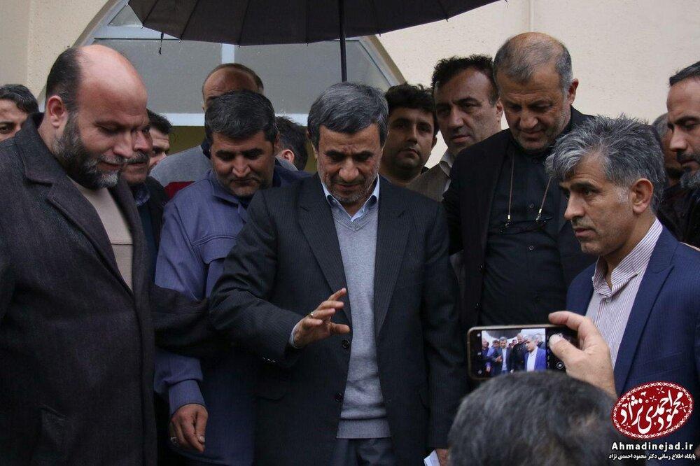 (تصاویر) چهره متفاوت اسفندیار رحیم مشایی