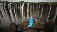 (تصاویر) مرگ آبشار ویکتوریا