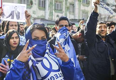 (تصاویر) اعتراض هواداران خشمگین استقلال