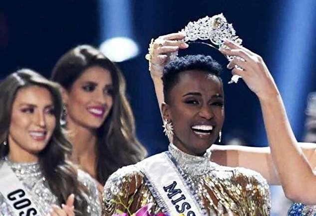 (ویدئو) تاج دختر شایسته سال ۲۰۱۹ بر سر دختری از آفریقای جنوبی