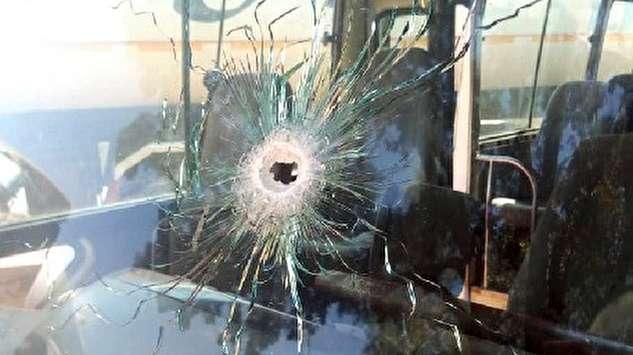 (ویدئو) سرقت مسلحانه در اتوبوس و کشته شدن یک نفر