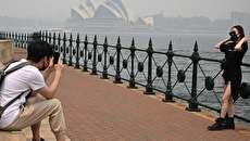 (تصاویر) سیدنی استرالیا غرق در دود