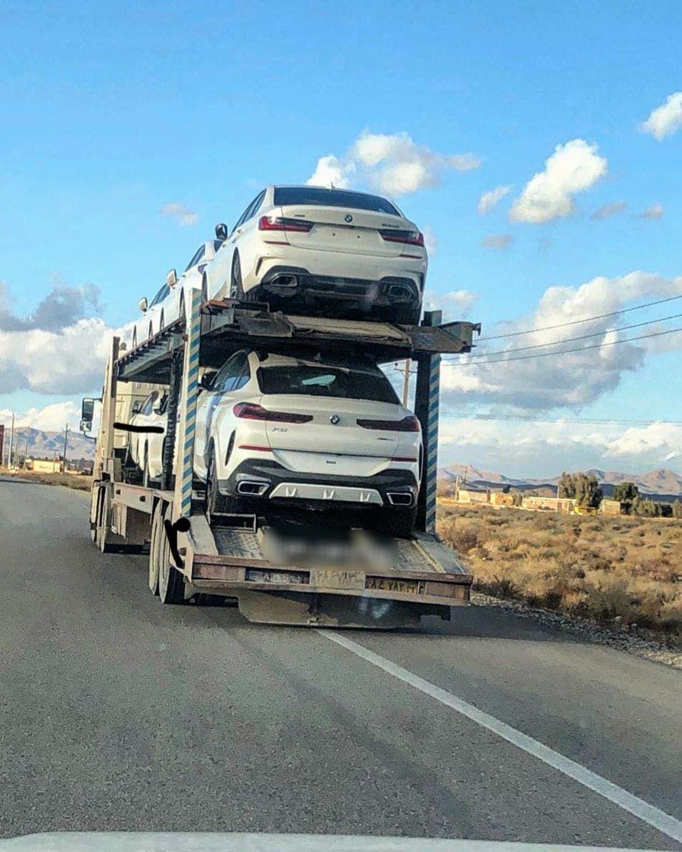 (عکس) محموله BMW مدل ۲۰۲۰ در جادههای ایران