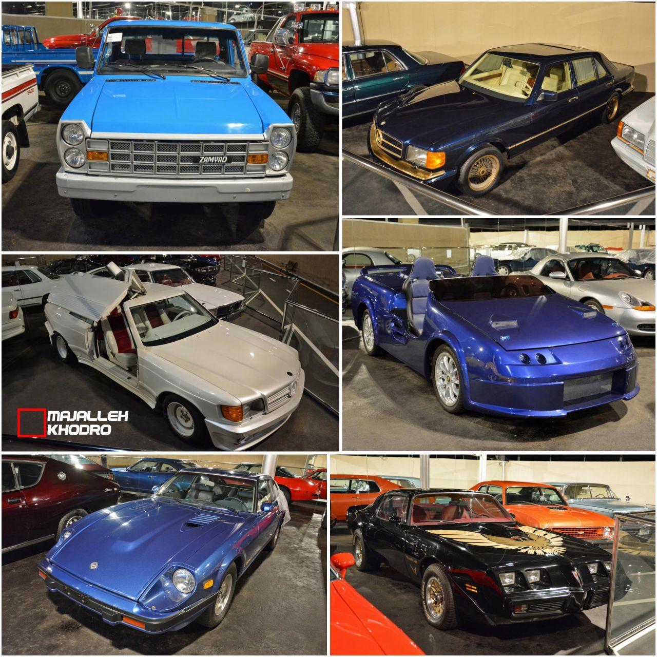 (عکس) نیسان آبی در کلکسیون ماشینهای شخصی شیخ اماراتی!