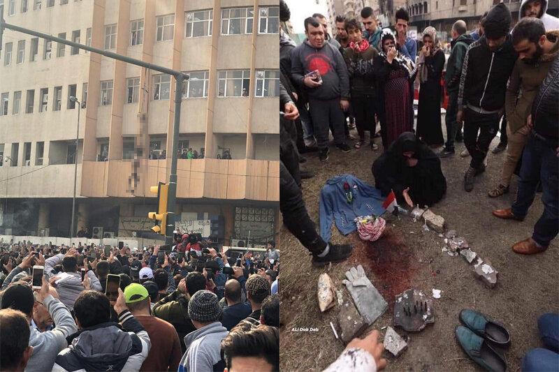 تلخترین تصویر از آشوبهای خونین عراق