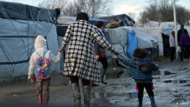 زندگی مشقتبار پناهجویان در فصل زمستان