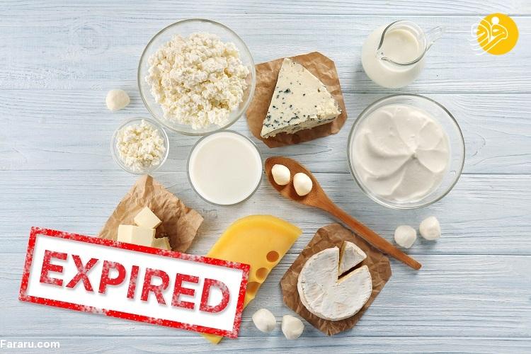 ۱۳ غذایی که هرگز نباید بعد از گذشت تاریخ انقضا، استفاده کنید