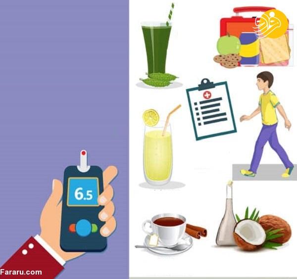 ۱۰ کاری که افراد دیابتی باید روزانه انجام دهند